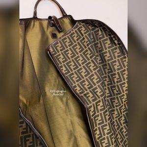 Authentic Fendi unisex travel bag